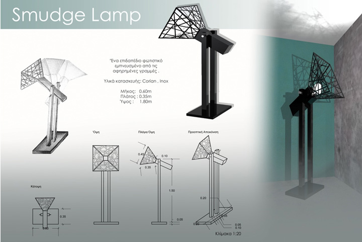 Smudge Lamp