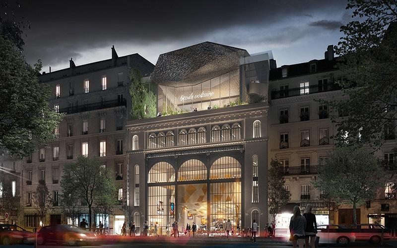 Etoile Voltaire Olivier Palatre Architectures