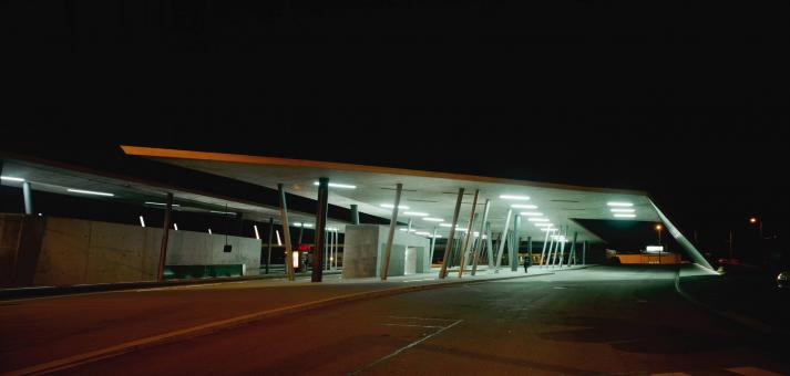 Hoenheim Nord Terminus and Car Park, Zaha Hadid, Strasvourgo, Gallia, 1998-2001 (1)